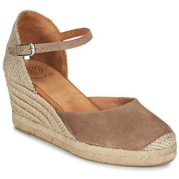 kengät Naiset Sandaalit ja avokkaat Unisa CARCERES Taupe
