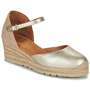 kengät Naiset Sandaalit ja avokkaat Unisa CISCA Kulta