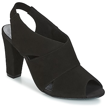 kengät Naiset Sandaalit ja avokkaat KG by Kurt Geiger FOOT-COVERAGE-FLEX-SANDAL-BLACK Black