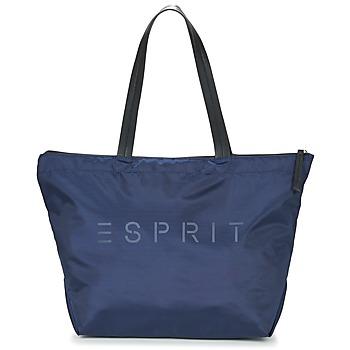 laukut Naiset Olkalaukut Esprit CLEO SHOPPER Laivastonsininen