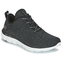 kengät Naiset Fitness / Training Skechers FLEX APPEAL 2.0 Black