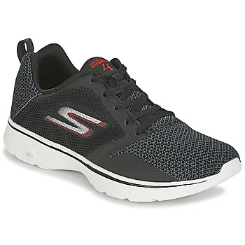 kengät Miehet Matalavartiset tennarit Skechers GO WALK 4 Black