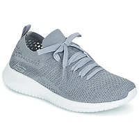 kengät Naiset Fitness / Training Skechers ULTRA FLEX Grey