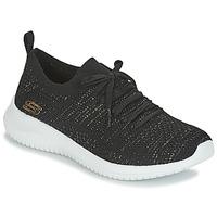 kengät Naiset Matalavartiset tennarit Skechers ULTRA FLEX Black