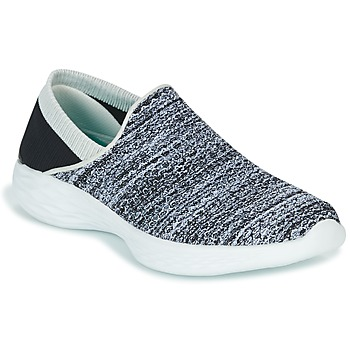 kengät Naiset Tennarit Skechers YOU Black / White