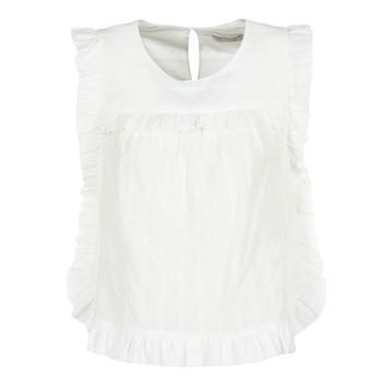 vaatteet Naiset Topit / Puserot See U Soon 8111036 White