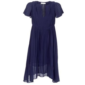 vaatteet Naiset Lyhyt mekko See U Soon 8121119 Laivastonsininen