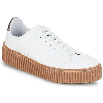kengät Naiset Matalavartiset tennarit Le Temps des Cerises TALYS White