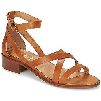 kengät Naiset Sandaalit ja avokkaat Casual Attitude COUTIL Brown