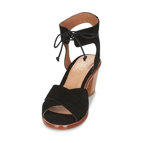 Casual Attitude Itelo Black - Ilmainen Toimitus- Kengät Sandaalit Naiset 40