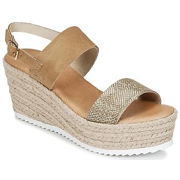 kengät Naiset Sandaalit ja avokkaat Casual Attitude INUIL Kulta / Brown