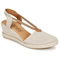 kengät Naiset Sandaalit ja avokkaat Casual Attitude IPOP Kulta