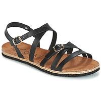 kengät Naiset Sandaalit ja avokkaat Casual Attitude ILMEM Black