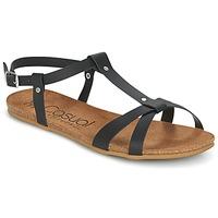kengät Naiset Sandaalit ja avokkaat Casual Attitude IPLEM Black