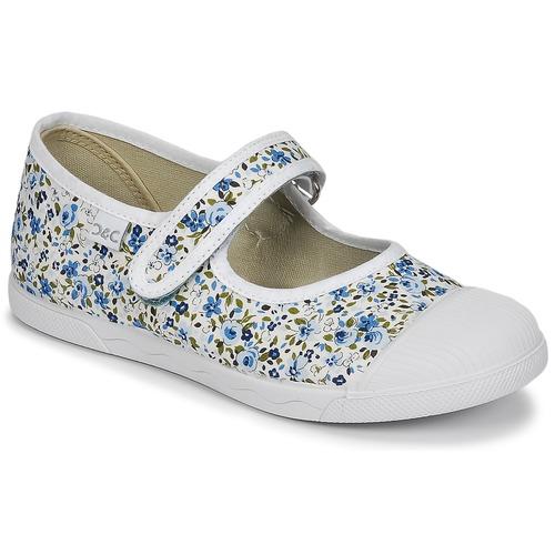 kengät Tytöt Balleriinat Citrouille et Compagnie APSUT Blue / White