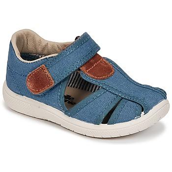 kengät Pojat Sandaalit ja avokkaat Citrouille et Compagnie GUNCAL Blue