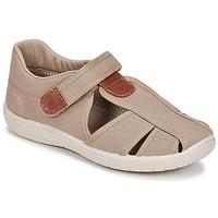 kengät Pojat Sandaalit ja avokkaat Citrouille et Compagnie GUNCAL Beige