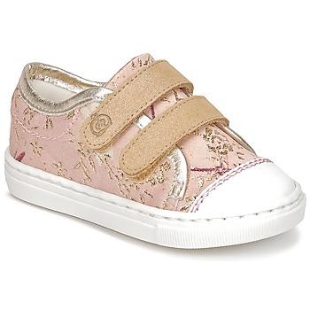 kengät Tytöt Matalavartiset tennarit Citrouille et Compagnie JORDANIA Pink / Kulta