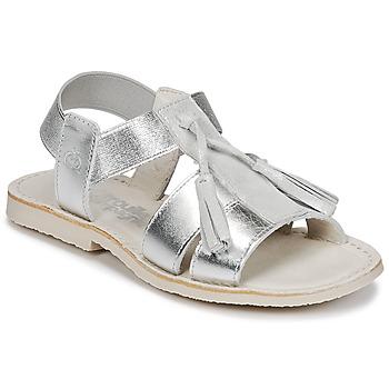 kengät Tytöt Sandaalit ja avokkaat Citrouille et Compagnie INAPLATA Silver