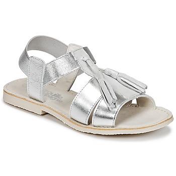kengät Tytöt Sandaalit ja avokkaat Citrouille et Compagnie INAPLATA Argenté