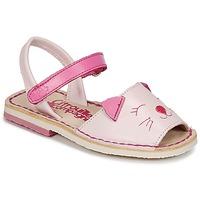 kengät Tytöt Sandaalit ja avokkaat Citrouille et Compagnie ILOUDFI Pink