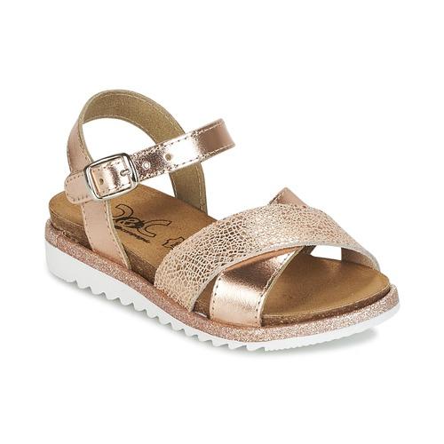 kengät Tytöt Sandaalit ja avokkaat Citrouille et Compagnie GAUFRETTE Bronze