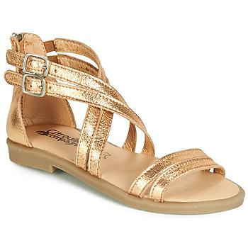 kengät Tytöt Sandaalit ja avokkaat Citrouille et Compagnie IMOURAT Kulta
