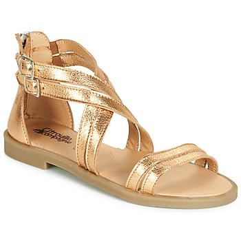 kengät Tytöt Sandaalit ja avokkaat Citrouille et Compagnie IMOURAT Gold