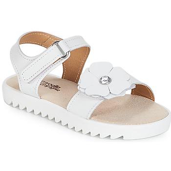 kengät Tytöt Sandaalit ja avokkaat Citrouille et Compagnie ILODO White
