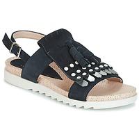 kengät Naiset Sandaalit ja avokkaat Elue par nous CHACAL Laivastonsininen