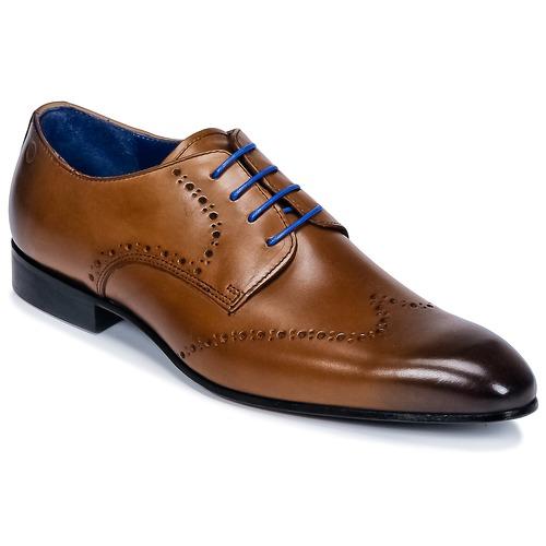 kengät Miehet Derby-kengät Carlington FRUTO Brown