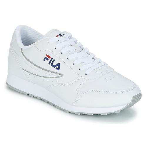 kengät Naiset Matalavartiset tennarit Fila ORBIT LOW WMN White