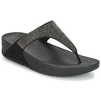 kengät Naiset Varvassandaalit FitFlop SLINKY ROKKIT Black