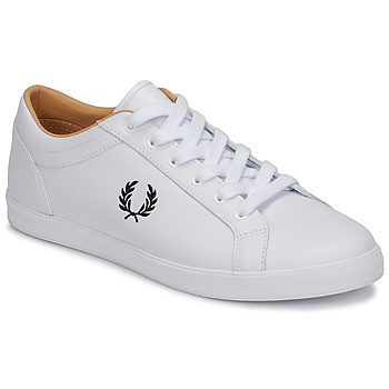 kengät Miehet Matalavartiset tennarit Fred Perry BASELINE LEATHER White