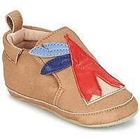 kengät Pojat Vauvan tossut Shoo Pom CHOU TIPI Musta / ruskea