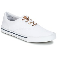 kengät Miehet Matalavartiset tennarit Sperry Top-Sider STRIPER II CVO WASHED White