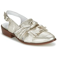 kengät Naiset Mokkasiinit Regard RELABI Kulta