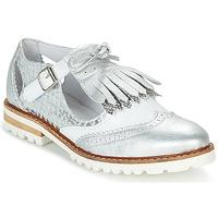 kengät Naiset Derby-kengät Regard RETAZO White / Argenté