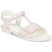 kengät Tytöt Sandaalit ja avokkaat Geox J S.GIGLIO A Pink