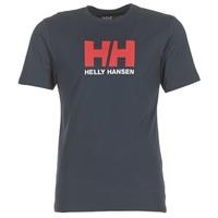 vaatteet Miehet Lyhythihainen t-paita Helly Hansen HH LOGO Laivastonsininen