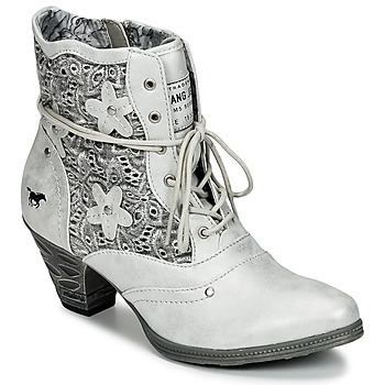 kengät Naiset Nilkkurit Mustang JIPIRI Silver