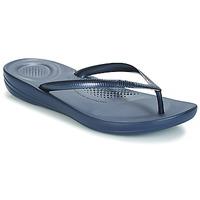 kengät Naiset Varvassandaalit FitFlop IQUSHION ERGONOMIC FLIP-FLOPS Sininen