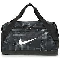 laukut Urheilulaukut Nike BRASILIA SMALL Black / White