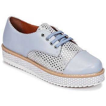 kengät Naiset Derby-kengät Cristofoli FILIPY Blue