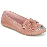 kengät Naiset Mokkasiinit Ippon Vintage MOC-WAX-ROSE Pink