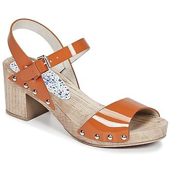 kengät Naiset Sandaalit ja avokkaat Ippon Vintage SOK COLORS Orange