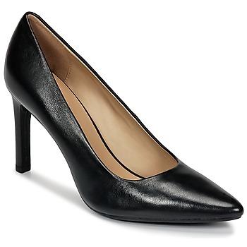 kengät Naiset Korkokengät Geox FAVIOLA C Black