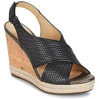 kengät Naiset Sandaalit ja avokkaat Geox JANIRA C Black