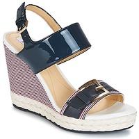 kengät Naiset Sandaalit ja avokkaat Geox JANIRA E Laivastonsininen