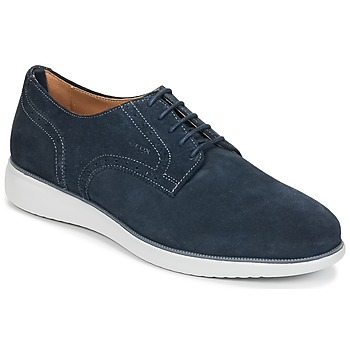 kengät Miehet Derby-kengät Geox WINFRED A Laivastonsininen
